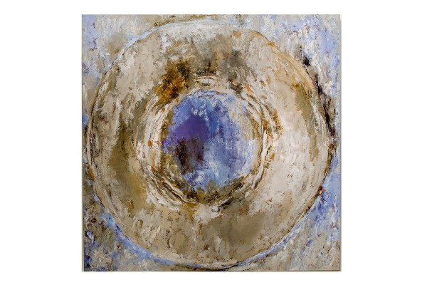 joseph-cals-paiting-white-circle–oil-on-canvas–170x170