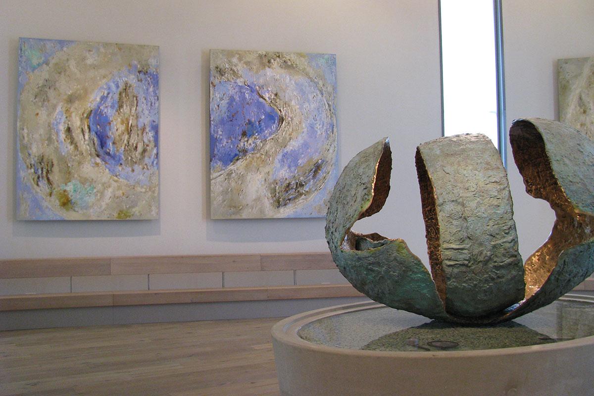 joseph-cals-sculprures-paintings-hospital-sittard